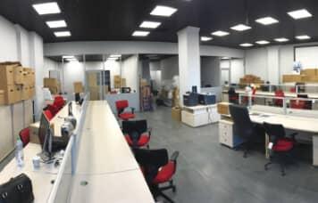 Офисный переезд компании