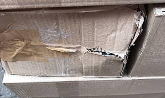 Плохая картонная упаковка