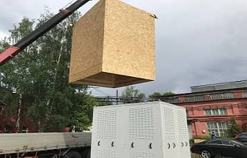 Упаковка больших грузов