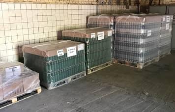 Упаковка для транспортировки бутылок