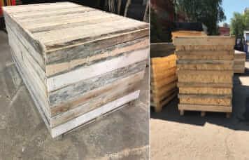 Услуга упаковки груза в деревянный ящик
